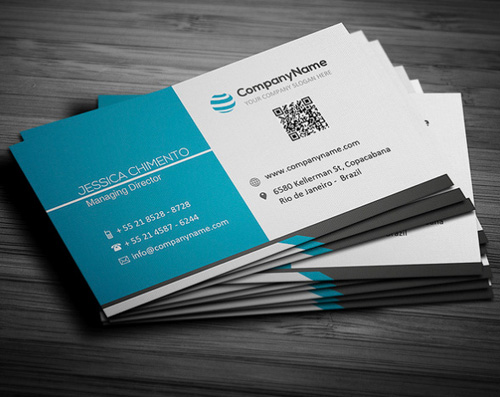 Awesome business card design riyan graphic corporate design business card reheart Choice Image